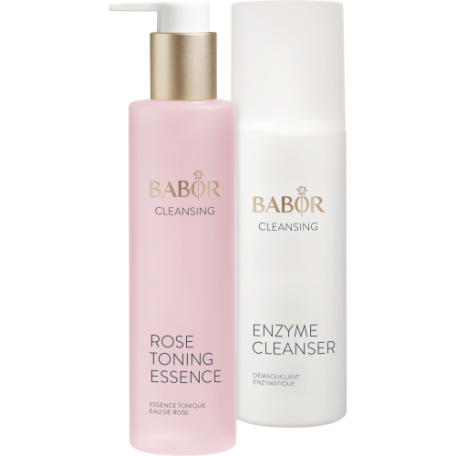 Enzyme Cleanser & Rose Toning Essence