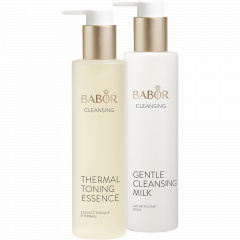 Gentle Cleansing Milk & Thermal Toning Essence
