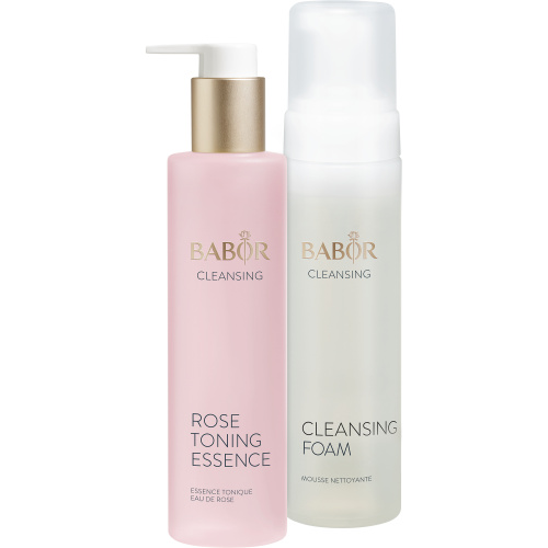 Cleansing Foam & Rose Toning Essence